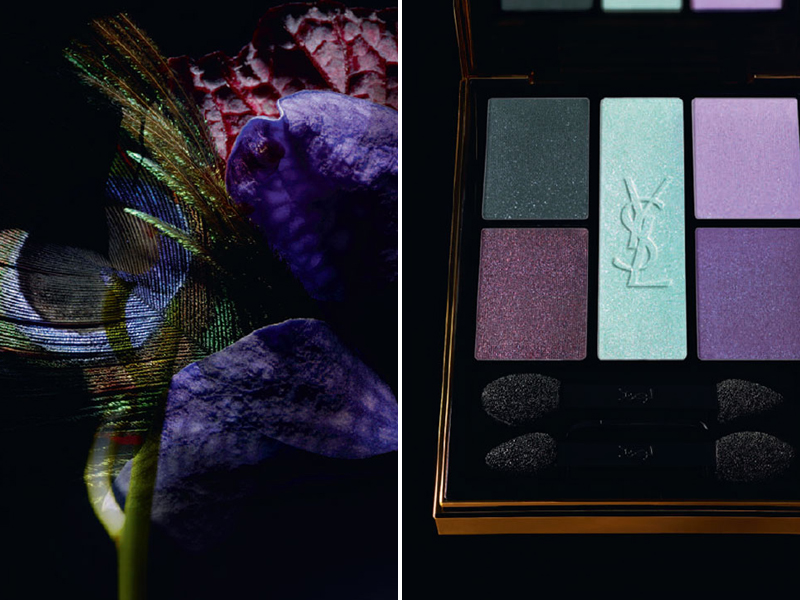 Introducing ysl jardin de minuit makeup collection for for Jardin yves saint laurent
