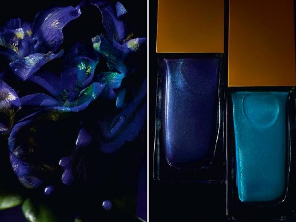 Introducing ysl jardin de minuit makeup collection for for Jardin yves saint laurent