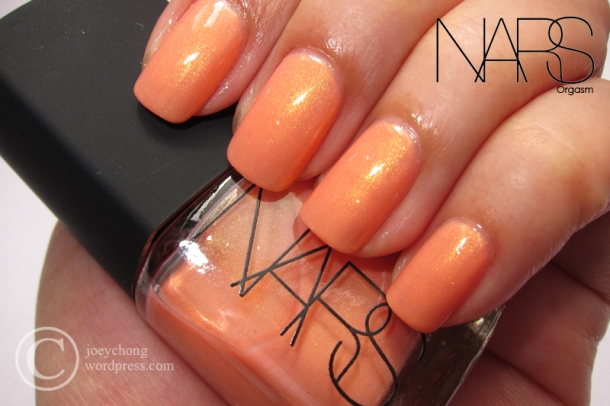 NARS Nail Polish In Orgasm, Rebel Yell & Tokaido Express | joey\'space
