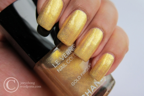 Chanel Le Vernis In Gold Fingers | joey'space