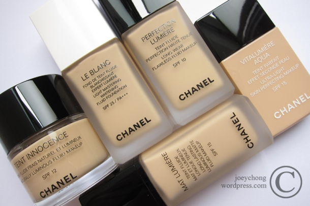 Chanel Perfection Lumi 233 Re Long Wear Flawless Fluid Makeup