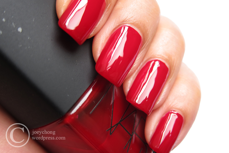 NARS Nail Polish In Jungle Red | joey\'space