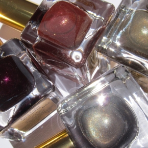 Estée Lauder Metal Mania Pure Color Nail Lacquer Collection – Chaos, Explosif, Fiery Hot & Smashed