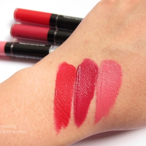 Make Up For Ever Aqua Rouge In 8 Red, 10 Raspberry & 15 Pink