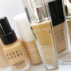 6 Of My Most Used Foundations