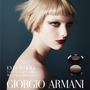 Giorgio Armani Introduces NEW Eyes To Kill Eyeshadow Quads