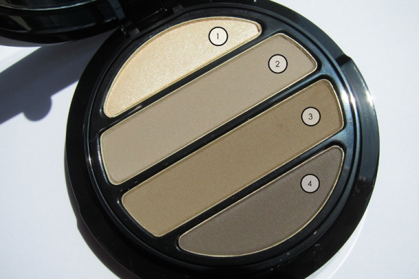 Giorgio Armani Eyes To Kill 4 Color Eyeshadow Palette in 4 Effeto Nudo
