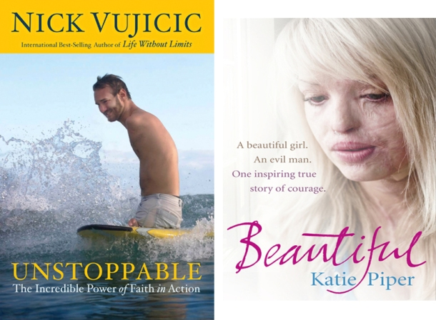 Nick Vujicic and Katie Piper
