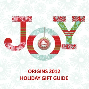 Origins Gift Guide For Holiday2012