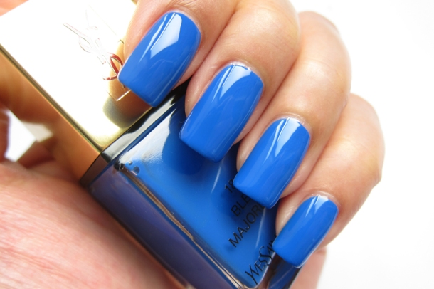 YSL 1 Rouge Pop Art & 18 Bleu Majorelle (5)