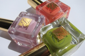 Estée Lauder Heavy Petals Pure Color Nail Lacquer Collection – Absinthe, Lilac Leather & Coral Cult