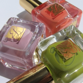 Estée Lauder Heavy Petals Pure Color Nail Lacquer Collection – Absinthe, Lilac Leather & CoralCult