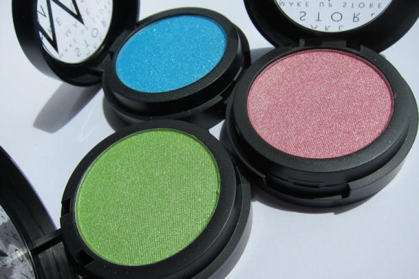 Make Up Store Microshadow In Voodoo Fever, Yaya & Heaven (2)