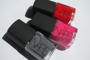 NARS Nail Polishes In Storm Bird, Schiap & Dovima