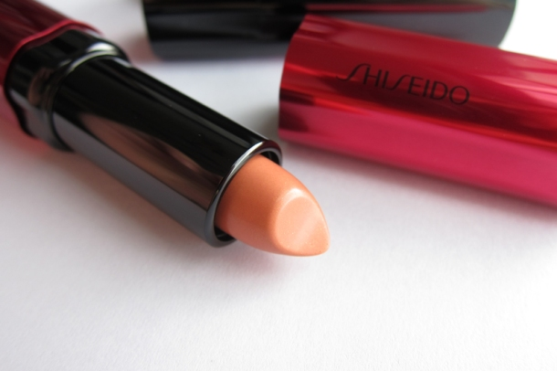 Shiseido Perfect Rouge Tender Sheer In BE 302 Topaz (2)