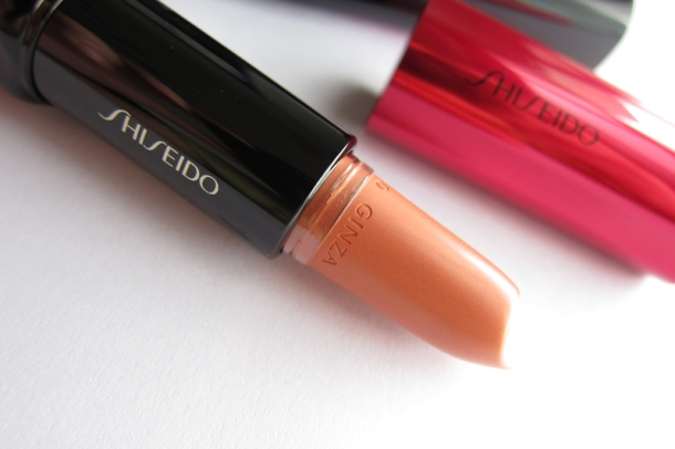 Shiseido Perfect Rouge Tender Sheer In BE 302 Topaz (4)