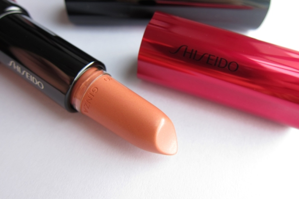 Shiseido Perfect Rouge Tender Sheer In BE 302 Topaz (5)