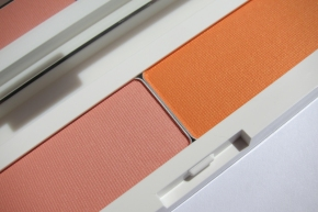 Shu Uemura Glow On Blush In P Soft Coral 332 & P Medium Orange 541