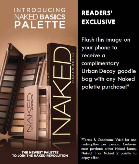 Urban Decay's NAKED Event