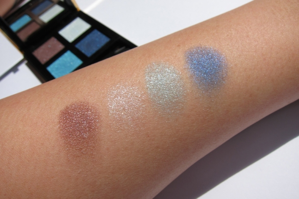 YSL Boréal Palette Arctic Night 4 Wet & Dry Eyeshadows (4)