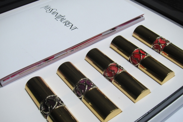 YSL Rouge Volupté Shine In N° 3, 6, 12, 13 & 19 (1)