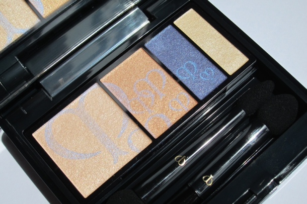 Clé de Peau BEAUTÉ Eye Color Quad In 209 Sapphire (1)