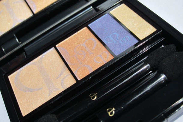 Clé de Peau BEAUTÉ Eye Color Quad In 209 Sapphire (2)