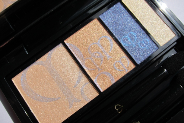 Clé de Peau BEAUTÉ Eye Color Quad In 209 Sapphire (3)