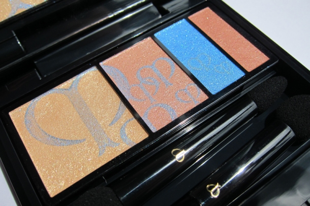 Clé de Peau BEAUTÉ Eye Color Quad In 210 Aquamarine (1)