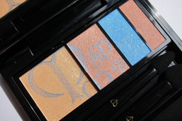Clé de Peau BEAUTÉ Eye Color Quad In 210 Aquamarine (3)