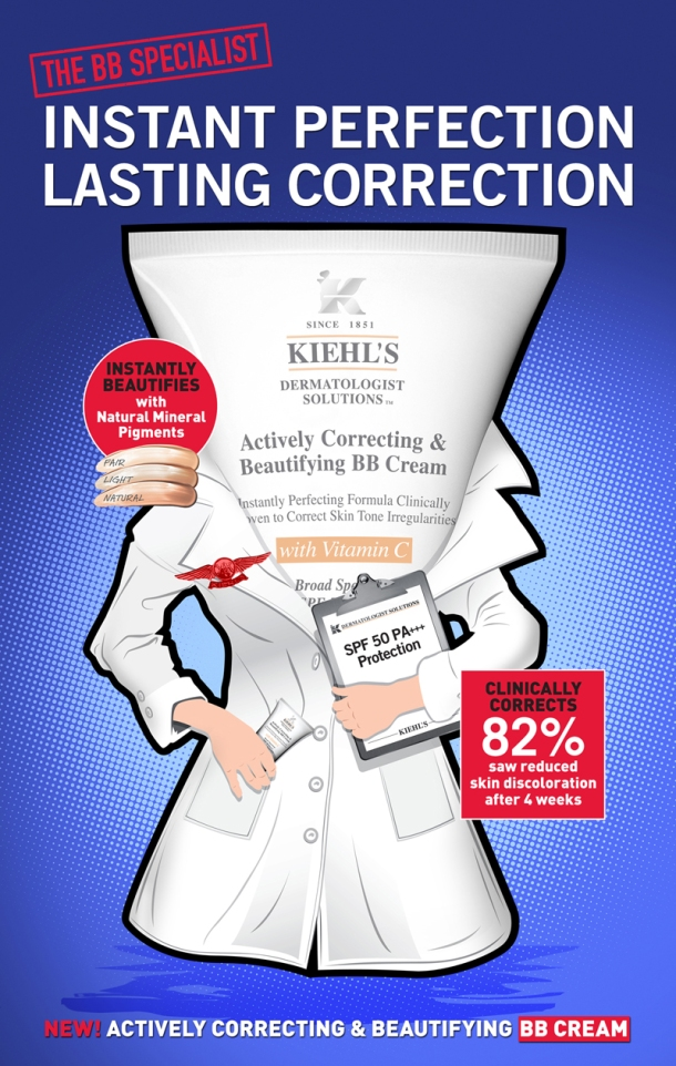 Kiehl's Actively Correcting & Beautifying BB Cream (1)