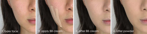 Clarins BB Cream - Test 1