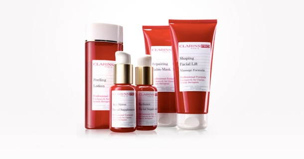 Welcome to clarins skin spa joey 39 space for Clarins salon