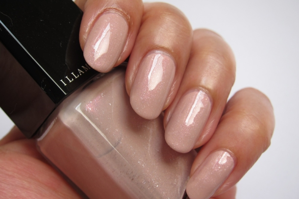 Illamasqua Nail Varnish In Raindrops & Pink Raindrops (3)