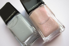Illamasqua Nail Varnish In Raindrops & Pink Raindrops