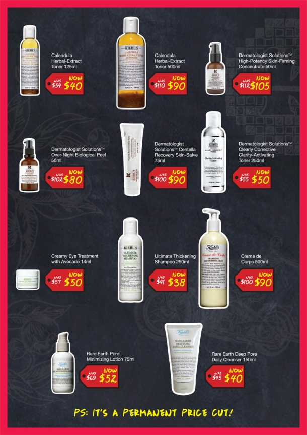 Kiehl's Is Growing, Prices Are Shrinking (4)