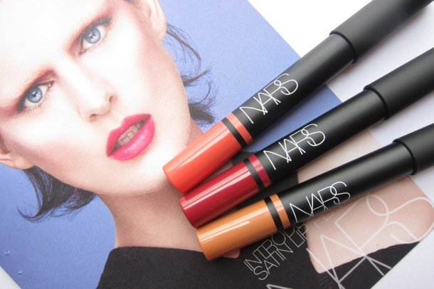 NARS Satin Lip Pencils In Floralies, Lodhi & Hyde Park (1)