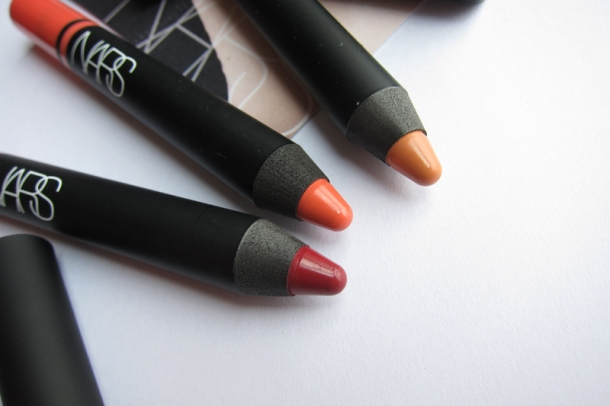 NARS Satin Lip Pencils In Floralies, Lodhi & Hyde Park (3)