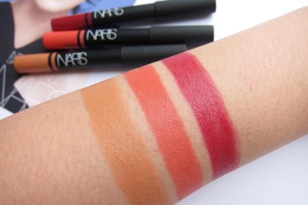 NARS Satin Lip Pencils In Floralies, Lodhi & Hyde Park (5)