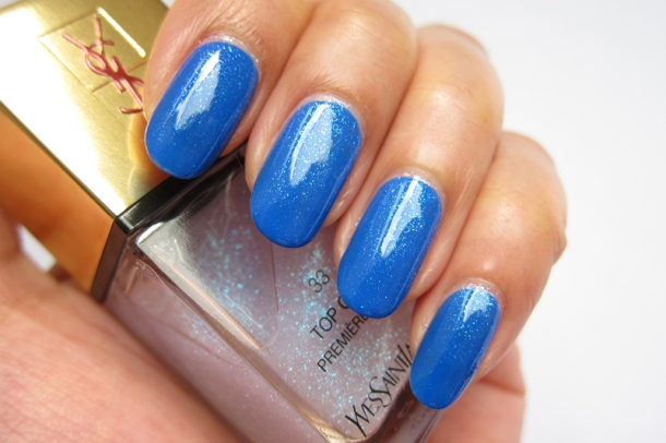 YSL Tie & Dye Pearly Coloured Top Coat In N°4 Ice Coat (10)