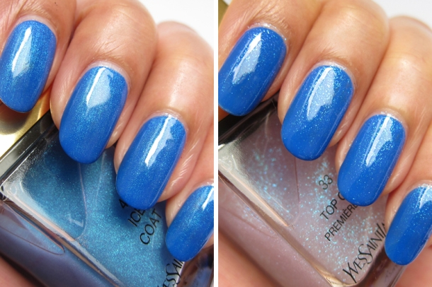 YSL Tie & Dye Pearly Coloured Top Coat In N°4 Ice Coat (11)