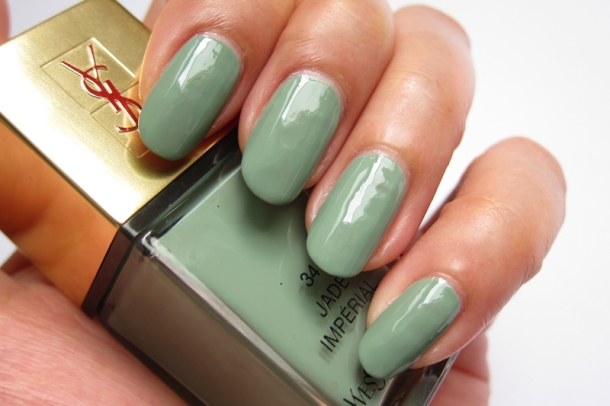 YSL Tie & Dye Pearly Coloured Top Coat In N°4 Ice Coat (12)