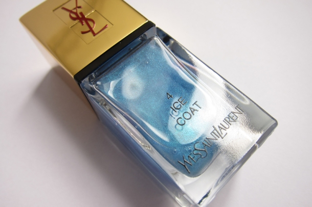 YSL Tie & Dye Pearly Coloured Top Coat In N°4 Ice Coat (3)