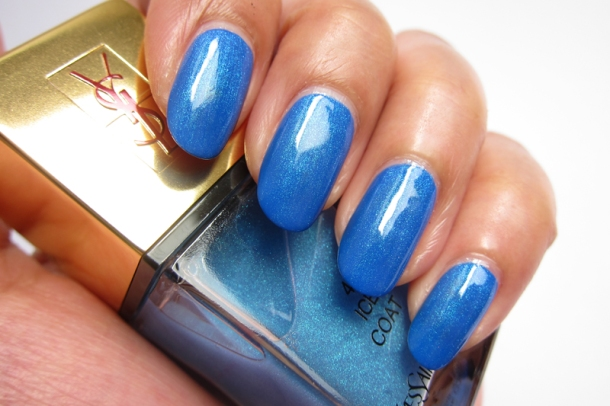 YSL Tie & Dye Pearly Coloured Top Coat In N°4 Ice Coat (6)