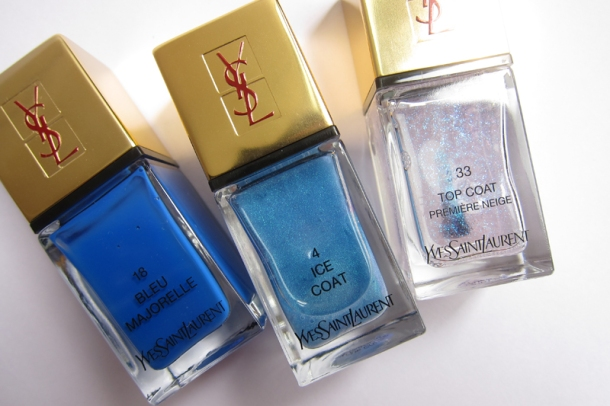 YSL Tie & Dye Pearly Coloured Top Coat In N°4 Ice Coat (7)