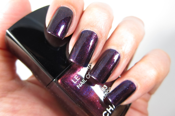 Chanel Le Vernis In 583 Taboo (4)
