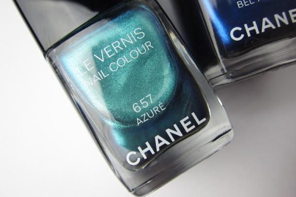 Chanel Le Vernis In 657 Azuré & 667 Bel-Argus (3)