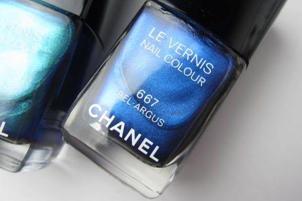 Chanel Le Vernis In 657 Azuré & 667 Bel-Argus (6)