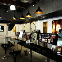 Corner of TANGS filled with DIOR makeup - check it out if you are around town.