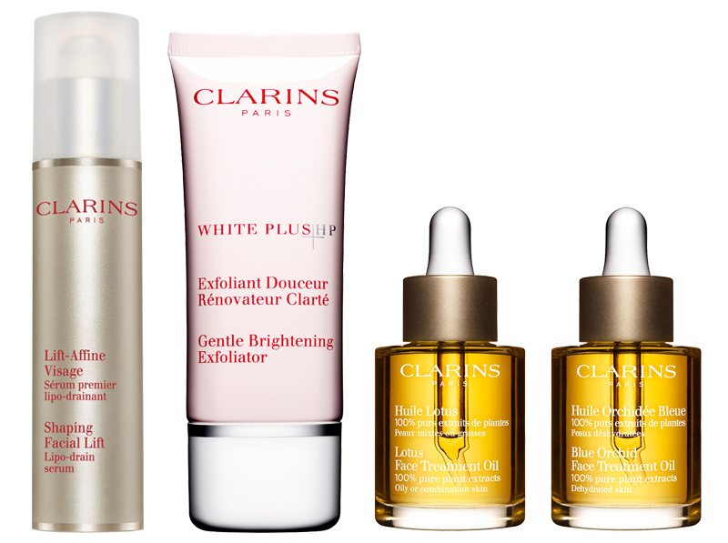 clarins whitening mask